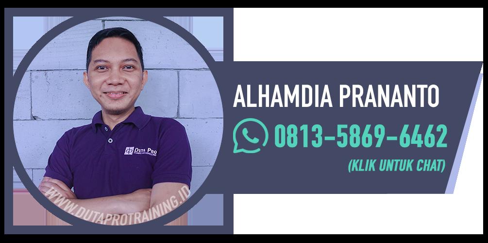 Alhamdia prananto kontak wa duta pro training