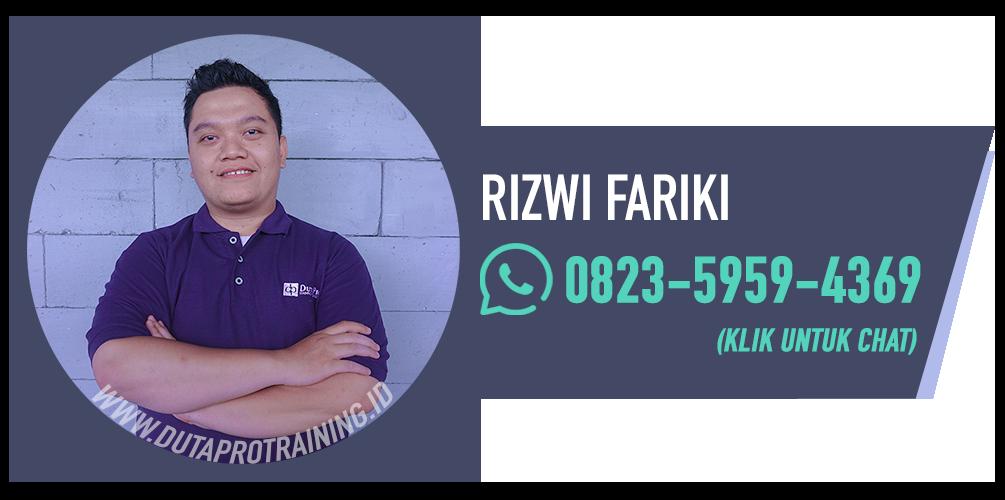 Rizwi fariki kontak wa duta pro training